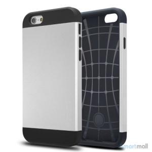 Staerkt hybrid-cover til iPhone 6 med dobbelt-beskyttelse - Soelv2