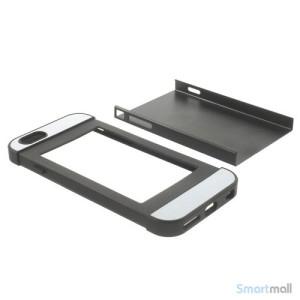To-farvet iPhone 6 cover med indbygget kortholder - Sort7