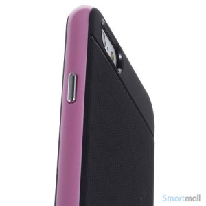 Todelt cover til iPhone 6 med ekstra beskyttelse - Pink5