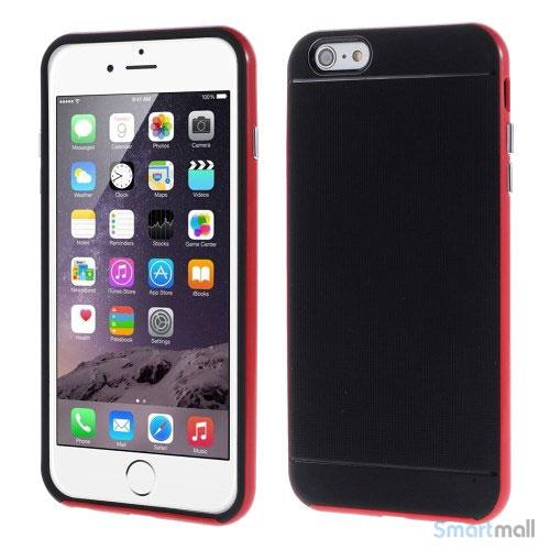 Todelt cover til iPhone 6 med ekstra beskyttelse - Roed