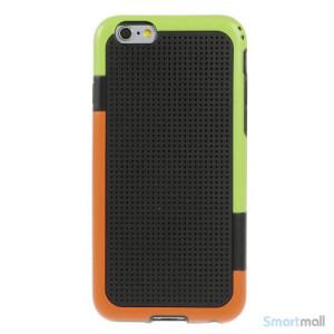 Tre-farvet cover til iPhone 6, med spaendende detaljer - Sort2