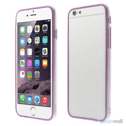 ultratynd-transparentlilla-bumper-til-iphone-6-lilla