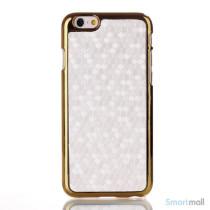 Eksklusivt cover til iphone6-læder belægning - hvid2
