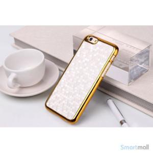 Eksklusivt cover til iphone6-læder belægning - hvid4