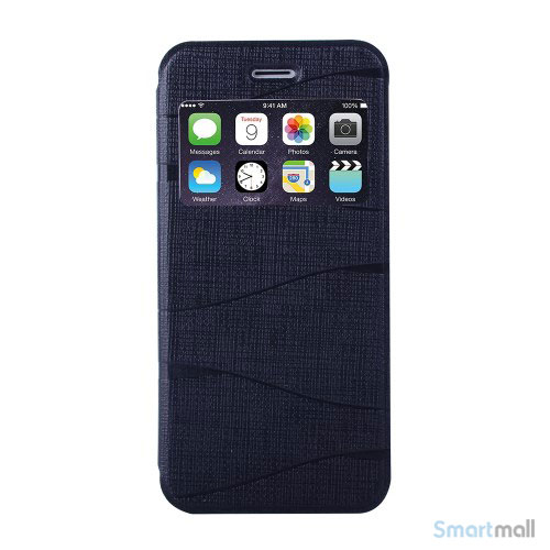 elegant-kingbar-flip-cover-med-vindue-til-iphone-6-og-6s-sort