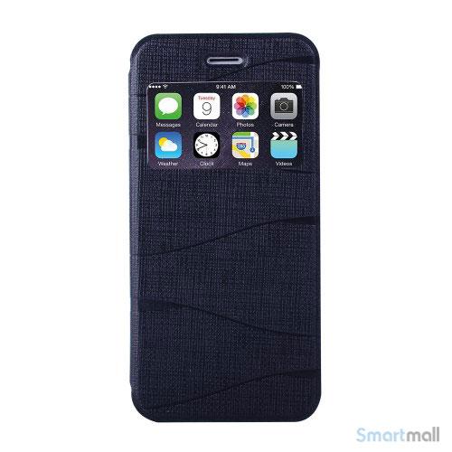 elegant-kingbar-flip-cover-med-vindue-til-iphone-6-og-6s-sort