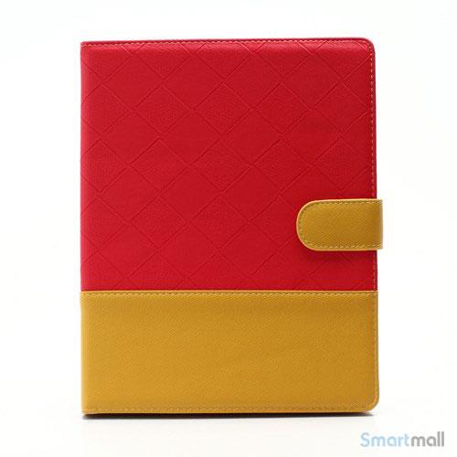 elegant-to-farvet-laedercover-til-ipad-2-3-og-4-gul-roed2