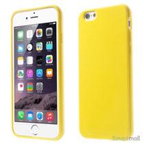 ensfarvet-cover-med-glossy-effekt-til-iphone-6-og-6-gul