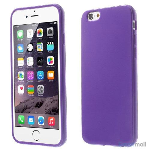 ensfarvet-cover-med-glossy-effekt-til-iphone-6-og-6-morklilla