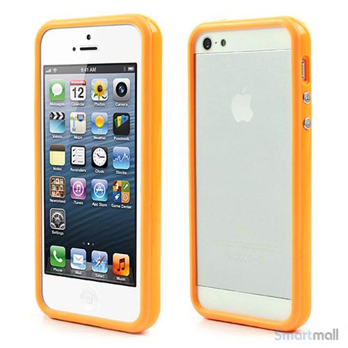 praecisions-stoebt-bumper-i-hybridplast-til-iphone-5-og-5s-orange