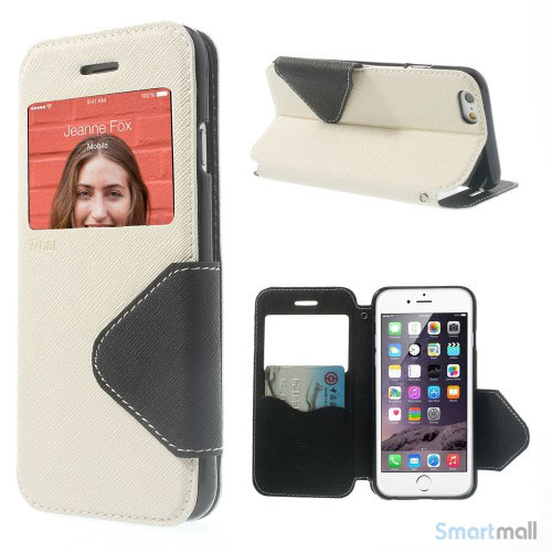 roar-korea-flip-cover-med-vindue-til-iphone-6-og-6s-hvid