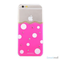 soed-polkaprikket-kingxbar-hardcase-til-iphone-6-og-iphone-6s-rosa