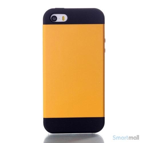 todelt-panser-cover-til-iphone-5-og-iphone-5s-gul2