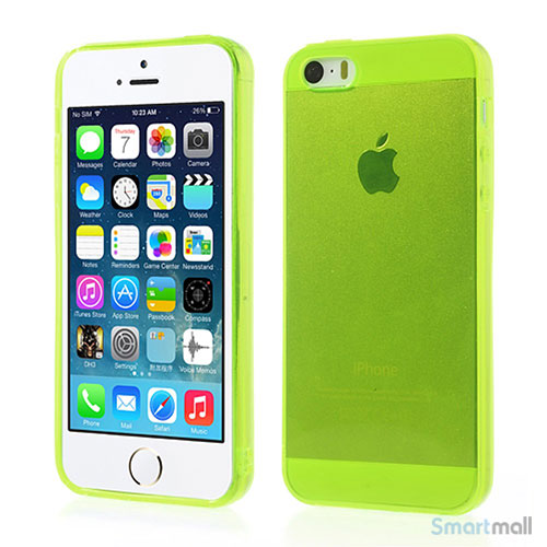 transparent-flex-cover-til-iphone-5-og-iphone-5s-gul-groen