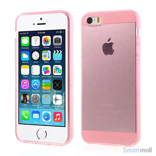 transparent-flex-cover-til-iphone-5-og-iphone-5s-pink