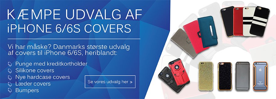iPhone 6/6S Covers Reklame - Smartmall.dk