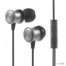 ESONG Mega bass in-ear hoeretelefoner m-mikrofon til iPhone-Samsung-HTC-mfl.–Sort