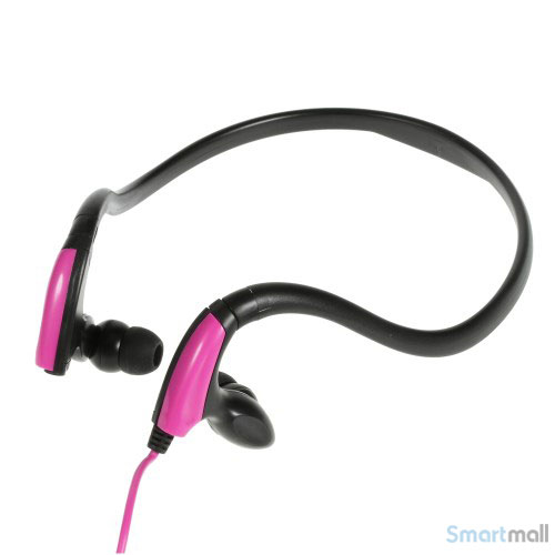 KIMMAR In-ear sports høretelefoner, vand/sved resistent – Rose