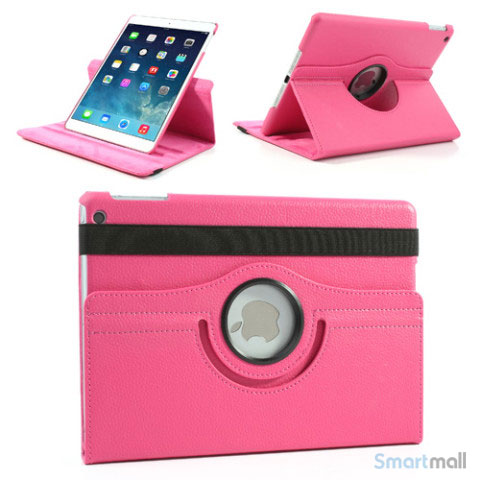 laekkert-360-gradersroterende-cover-m-standfunktion-til-ipad-air-rose