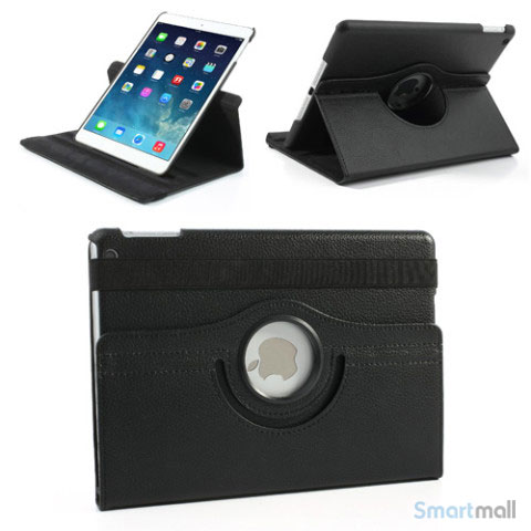 laekkert-360-gradersroterende-cover-m-standfunktion-til-ipad-air-sort