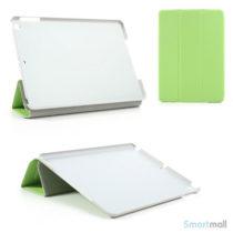laekkert-flip-cover-i-laeder-m-standfunktion-til-ipad-air-groen