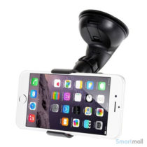 Holder til bilen m/sugekop/clip funktion, til iPhone 6/Samsung Galaxy S6, 0-112mm