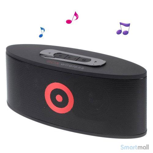 Lækker bluetooth højtaler m/FM radio/Handsfree/AUX – Sort