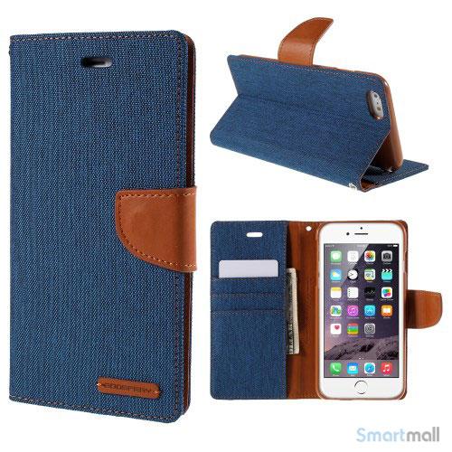 mercury-goospery-laedercover-m-kortholder-til-iphone-6-6s-plus-blaa1