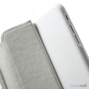 ROARKOREA laedercover m-frontvindue til iPhone 6-6S PLUS - Hvid7