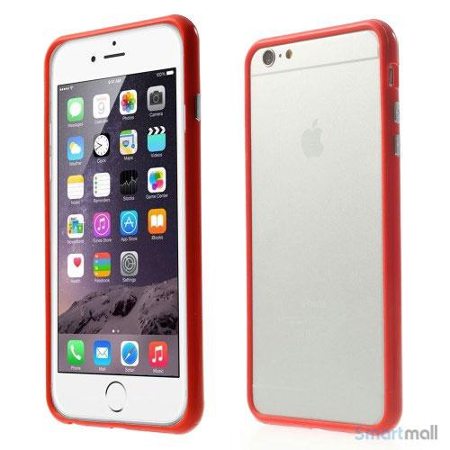 simpelt-tpu-hybrid-bumper-til-iphone-6-6s-plus-roed1
