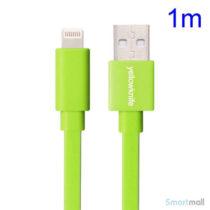yellowknife-1m-lightning-ladekabel-til-iphone-ipad-ipod-groen1