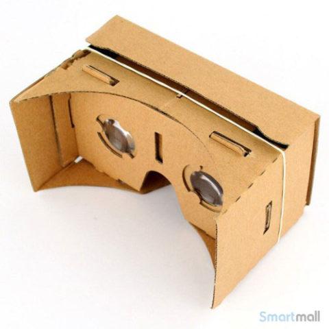 Saml-selv 3D Google Cardboard Virtual Reality-briller til smartphones