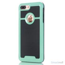 Apple iPhone 7 Plus TPU/Armor cover i frisk farve - Grøn
