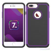 apple-iphone-7-plus-silikone-hybrid-cover-lilla