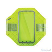 BASEUS ultra tyndt løbearmbånd m/refleks til iPhone 7-6S-6 - Grøn