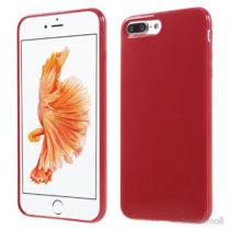 Blankt TPU gel-cover til Apple iPhone 7 Plus - Rød