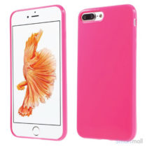 Blankt TPU gel-cover til Apple iPhone 7 Plus - Rose
