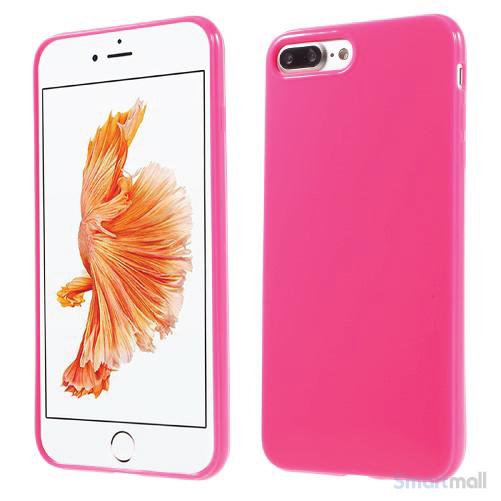 Blankt TPU gel-cover til Apple iPhone 7 Plus - Rose