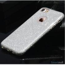 Flot & eksklusivt TPU cover fra USAMS til iPhone 7 Plus - Sølv2