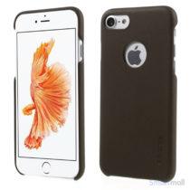 G-Case lædercover udført i tyndt design til iPhone 7- Brun