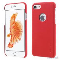 G-Case lædercover udført i tyndt design til iPhone 7 - Rød
