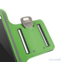 GYM sportsarmbånd m/nøgleholder til iPhone 7/6S/6 - Grøn7