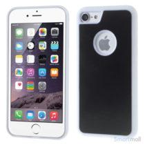 MYFONLO Magic Stick cover m/selvklæbende funktion til iPhone 7 - Hvid