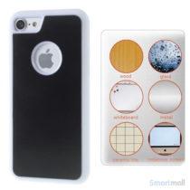 MYFONLO Magic Stick cover m/selvklæbende funktion til iPhone 7 - Hvid2