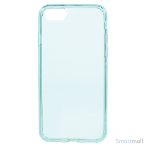 Semitransparent TPU gel-cover til Apple iPhone 7 - Baby blå