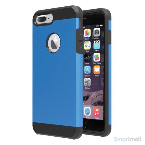 Smart TPU/Hybrid cover til iPhone 7 Plus - Baby blå