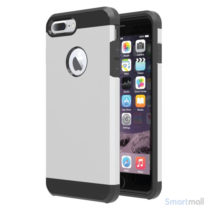 Smart TPU/Hybrid cover til iPhone 7 Plus - Sølv