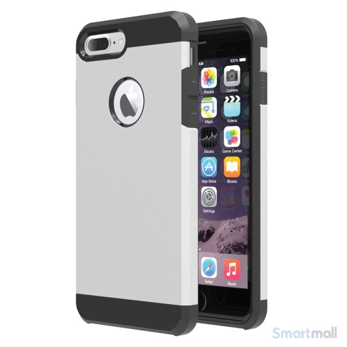 Smart TPU/Hybrid cover til iPhone 7 Plus - Sølv
