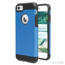 Solidt Hybrid + TPU beskyttelsescover til iPhone 7 - Baby blå