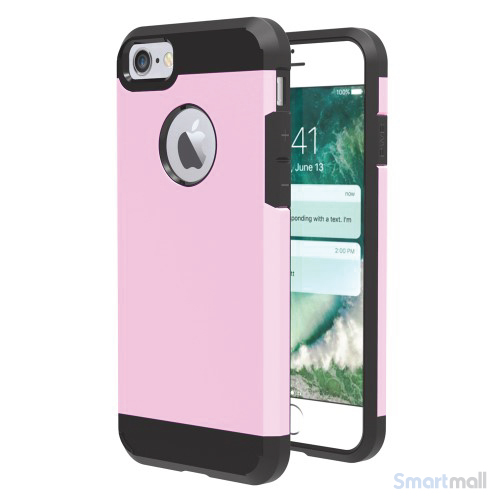 solidt-hybrid-tpu-beskyttelsescover-til-iphone-7-pink